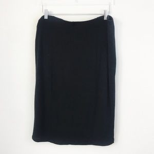 Mossimo Supply Co. Skirts - Mossimo | Solid Black Stretch Pencil Skirt | XXL